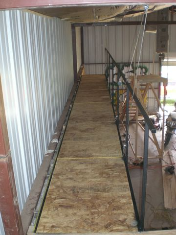 The catwalk for Catwalk flooring